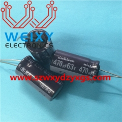 470uf 63V Commonly used electrolytic capacitors for automotive control modules
