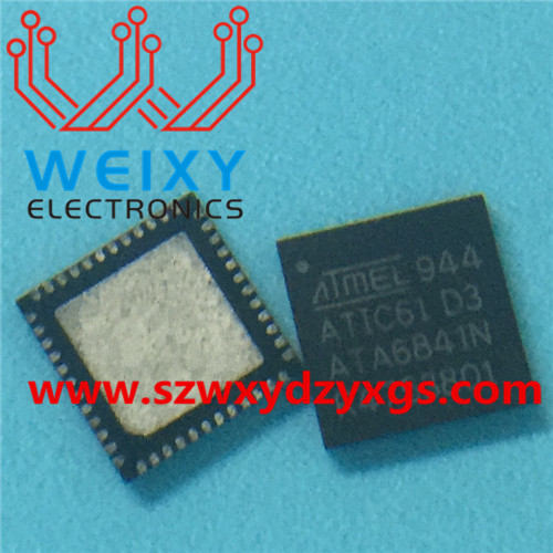 ATIC61 D3 ATA6841N  commonly used vulnerable drive chip for BMW N52 MSV90 DME