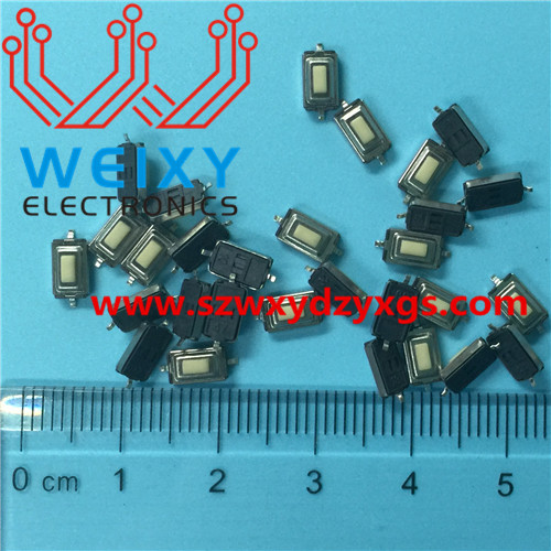automotive key button 3X6X2.5MM 2PIN