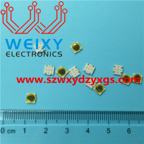 automotive key button  5X5X0.5MM