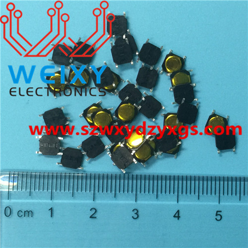 automotive key button  4X4X0.8MM 4PIN