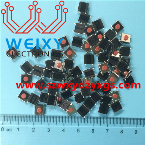 automotive key button  6X6X3.4MM 4PIN