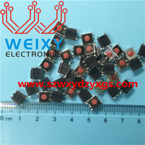 automotive key button  6X6X3.4MM 5PIN
