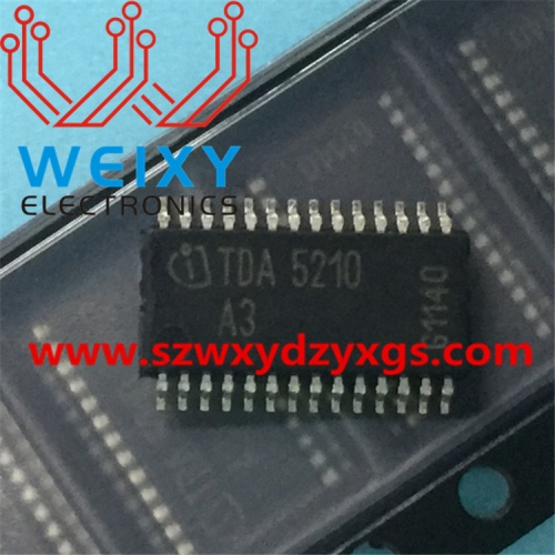 TDA5210 A3  Radio Frequency Receiver chip for truck ECM