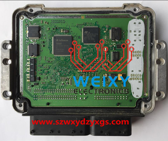 HYUNDAI ELANTRA ECU repair kit