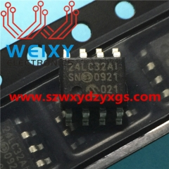 24LC32 Commonly used automotive SOIC EEPROM chips