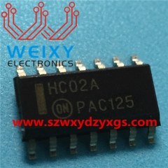 HC02A  commonly used vulnerable drive chip for Control unit module
