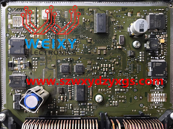 Mercedes benz me9 7 a273 ecu repair kit for Mercedes benz ecu repair