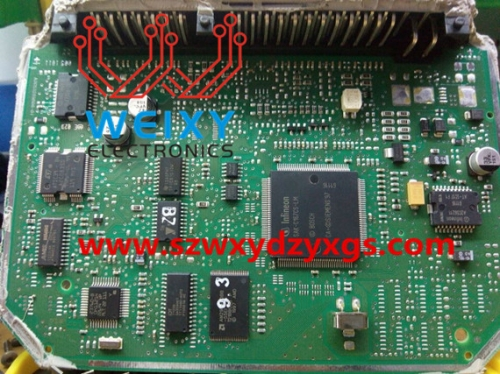 JETTA SIEMENS ECU repair kit