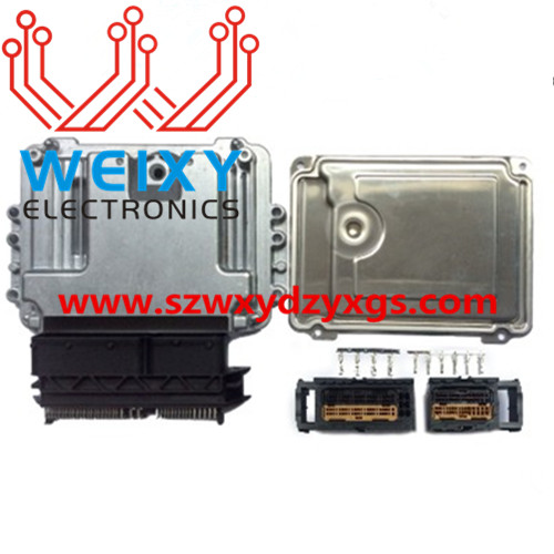 EDC16UC40 ECU shell and plug