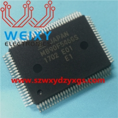 Automotive dashboard commonly used MCU memory chip