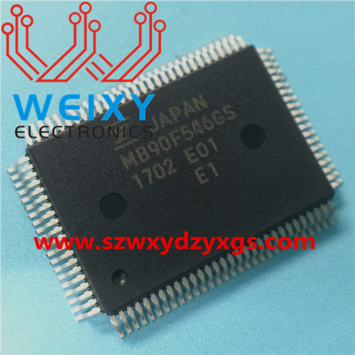MB90F546GS Automotive dashboard commonly used MCU memory chip