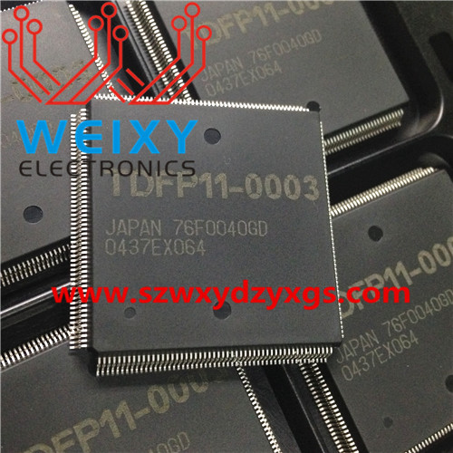 76F0040GD Commonly used vulnerable Chip for TOYOTA DENSO ECU
