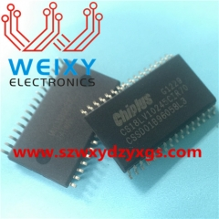 CS18LV10245CIR70 Commonly used vulnerable driver chips for excavator ECM