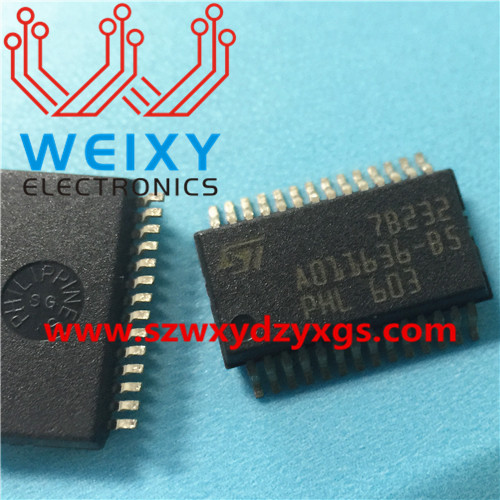 A011636-B5 Commonly used vulnerable driver chips for Mercedes-Benz and BMW  ECU
