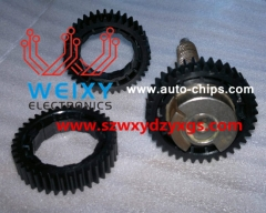 BMW 7 Series E65, E66 autohold EMF vulnerable gear