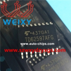 TD62597AFG Commonly used vulnerable driver chips for Excavators' ECU