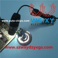 Professional electronic Microscope used for inspecting ECU IC model No and soldering work.