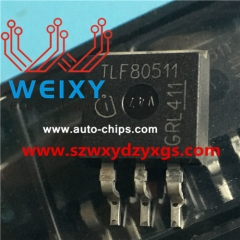 TLF80511 Commonly used vulnerable driver chips for automobiles and excavators' ECU