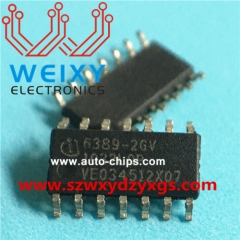 6389-2GV Commonly used vulnerable driver chips for excavator ECM