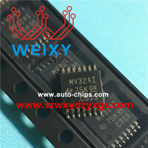 MV324I Commonly used vulnerable driver chips for excavator and truck ECM