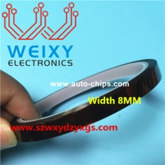 High temperature resistant tinfoil 8 mm width
