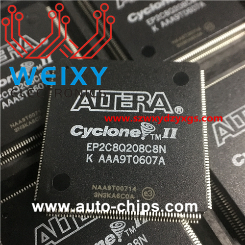 EP2C8Q208C8N commonly used vulnerable chip for automotive dashboard