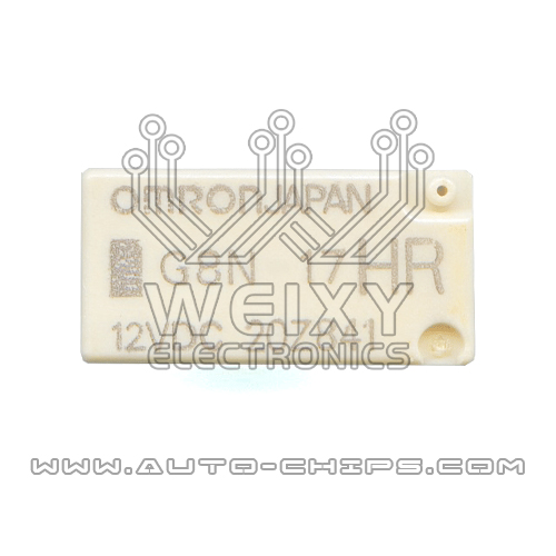 G8N-17HR 12VDC  commonly used vulnerable relay for Benz W204/207 ESL