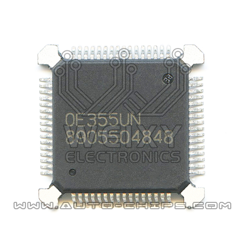 8905504848  ECU commonly used vulnerable driver  chip