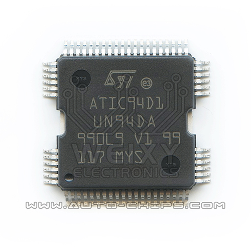 ATIC94D1 UN94DA  commonly used vulnerable fuel injection driver chip for Bosch ECU