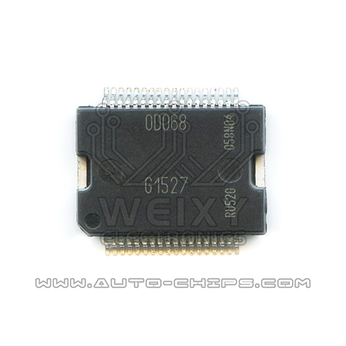 0D068  commonly used vulnerable fuel injection driver chip for Bosch ECU