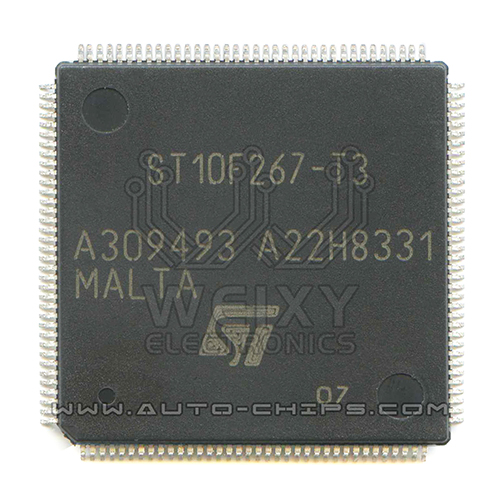 ST10F267-T3  commonly used vulnerable MCU storage chip for Automotive ABS pump