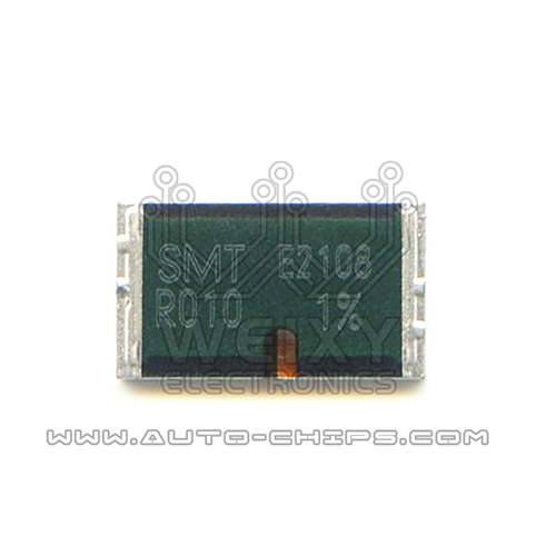 SMT R010   commonly used vulnerable high-precision alloy power resistors for ECU