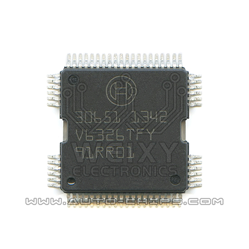 30651   commonly used vulnerable fuel injection driver chip for BOSCH ECU