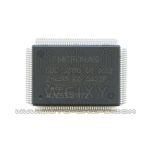 MICRONAS CDC3217G commonly used vulnerable MCU chip for automotive dashboard