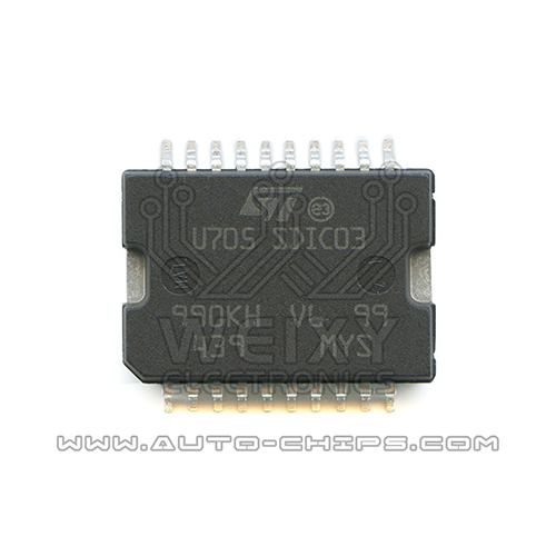 U705  commonly used vulnerable  idle throttle drive chip for  SIEMENS Automotive ECU