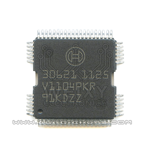 30621  commonly used vulnerable fuel injection driver chip for BOSCH ECU
