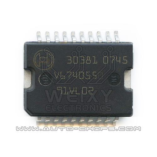30381    BOSCH ME7.5 ECU fuel injection driver chips
