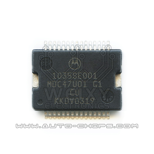 1035SE001 Ford Mondeo ECU fuel injection driver chip