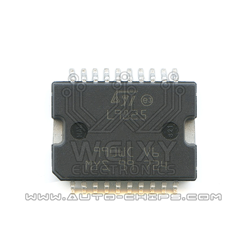 L9825 Bosch ECU commonly used vulnerable idle throttle drive chip
