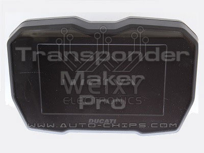 TMPro2 Software module 209 – Ducati Panigale V4 dashboard COBO