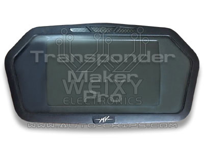 TMPro2 Software module 206 – MV Agusta Veloce dashboard COBO