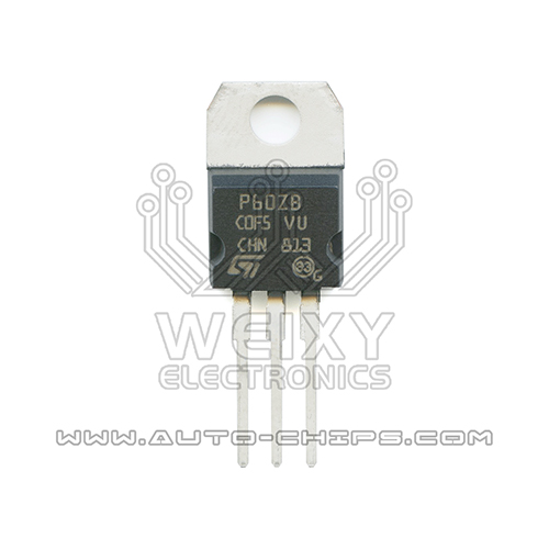 P60ZB driver transistor for ABS pump computer board of automobiles