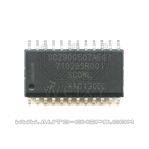 SCZ900507AEG1 71028SR001  commonly used vulnerable idle throttle driver chip Automotive ECU