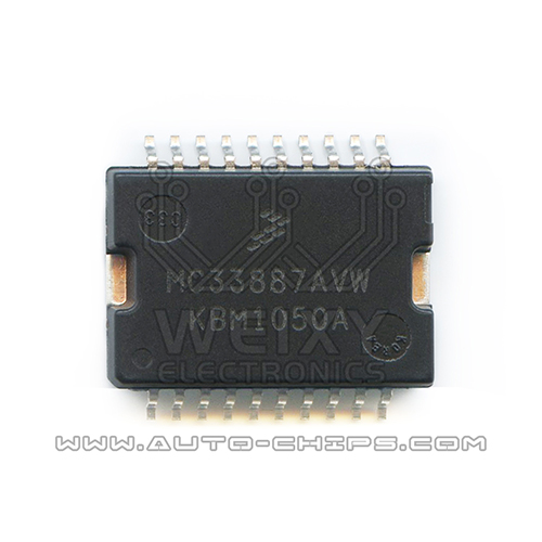 MC33887AVW idle speed drive chip use for automotives ECU