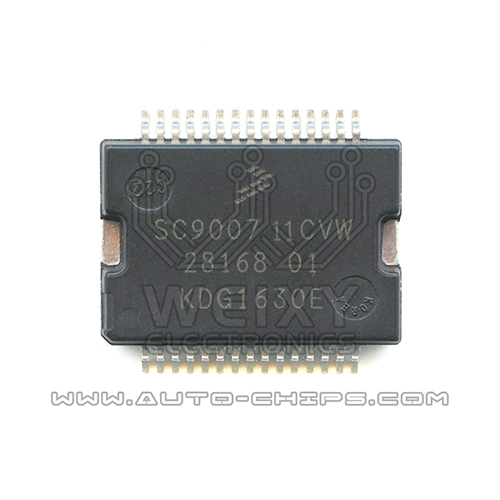 SC900711CVW 28168101 idle speed drive chip for Delphi ECU