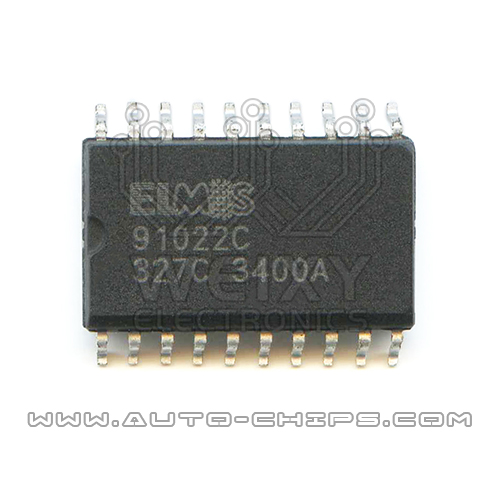 91022C Diesel truck ECM commonly used vulnerable drive chip