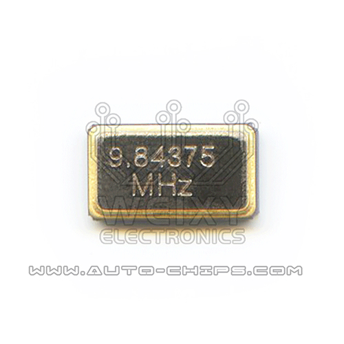 9.84375MHz crystal oscillator for automotives key