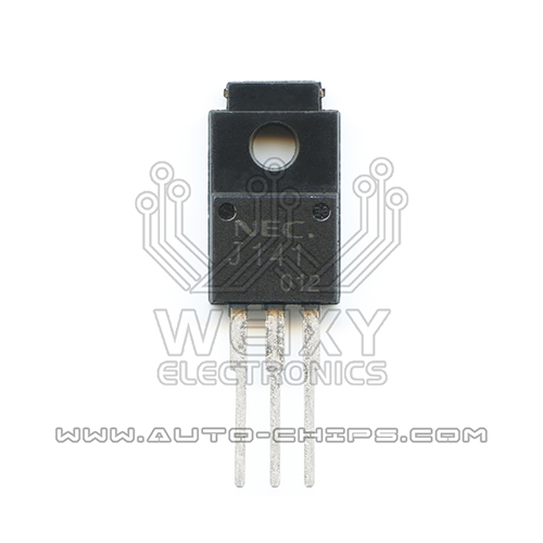 NEC J141 chip use for excavator ECM