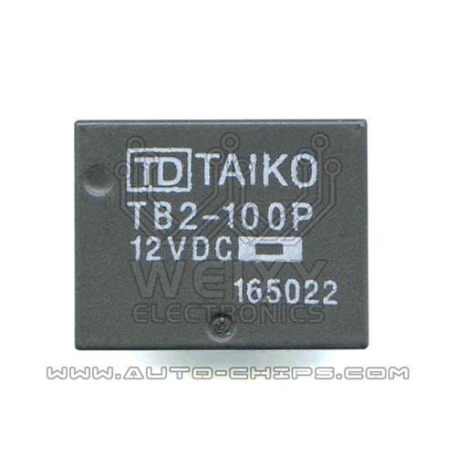 TB2-100P 12VDC Relay use for Automotives BCM